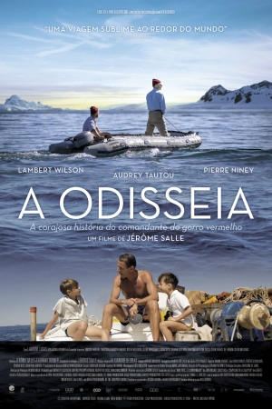 Cartaz oficial do filme A Odisseia