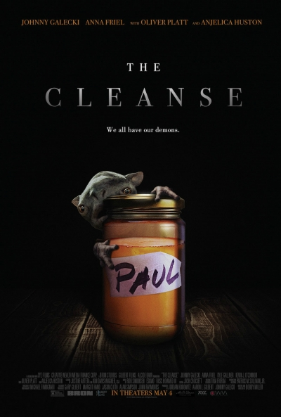 Cartaz oficial do filme The Cleanse