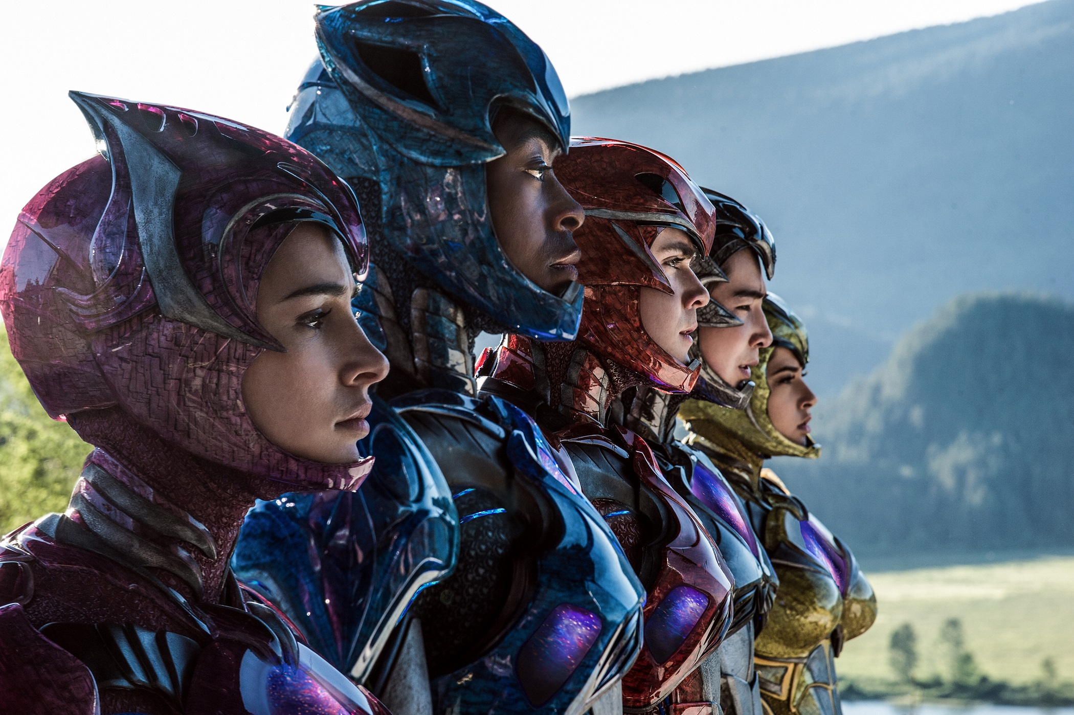 Power Rangers 2017 Movie Suits 6381f
