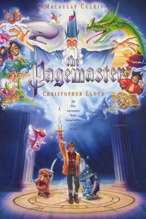 Cartaz do filme Pagemaster - O Mestre da Fantasia