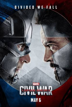 Cartaz oficial do filme Capitão América: Guerra Civil