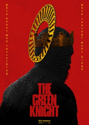 Cartaz oficial do filme The Green Knight