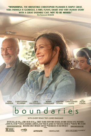 Cartaz oficial do filme Boundaries