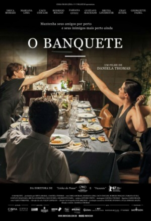 Cartaz oficial do filme O Banquete