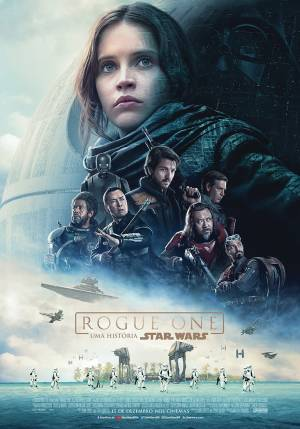 Cartaz do filme Rogue One: Uma História Star Wars