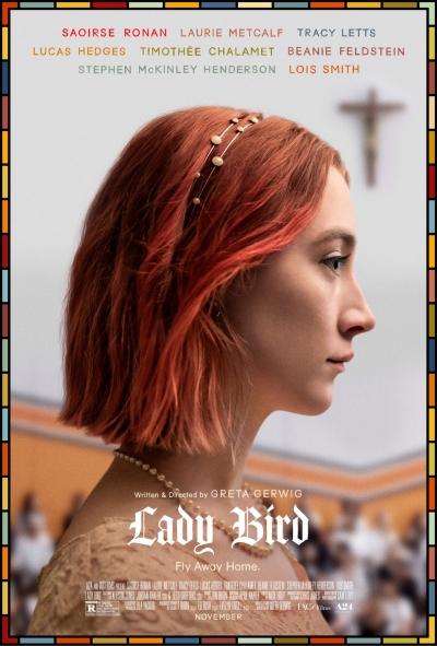 Cartaz do filme Lady Bird - A Hora de Voar