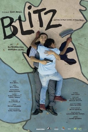 Cartaz oficial do filme Blitz (2018)