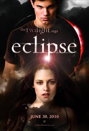 Cartaz do filme A Saga Crepúsculo: Eclipse