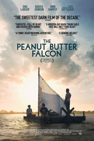 Cartaz oficial do filme The Peanut Butter Falcon