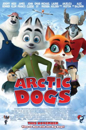 Cartaz oficial do filme Arctic Dogs
