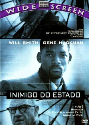 Cartaz oficial do filme Inimigo do Estado