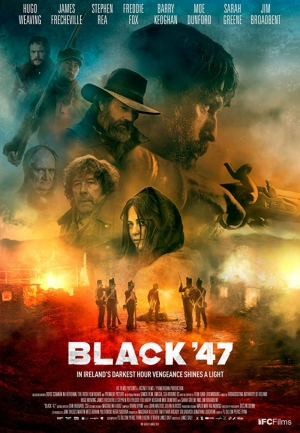 Cartaz oficial do filme Black 47