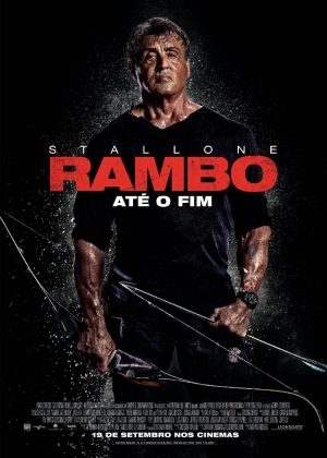 Cartaz oficial do filme Rambo V - Last Blood