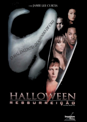 Cartaz oficial do filme Halloween: Ressurreição