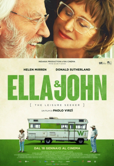 Cartaz oficial do filme Ella e John
