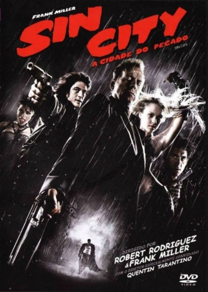 Cartaz oficial do filme Sin City: A Cidade do Pecado (2005)