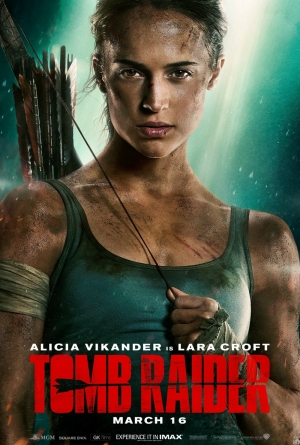 Cartaz oficial do filme Tomb Raider