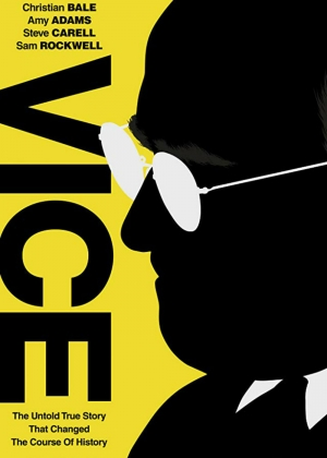 Cartaz oficial do filme Vice (2018)