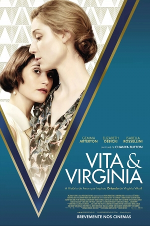 Cartaz oficial do filme Vita e Virginia
