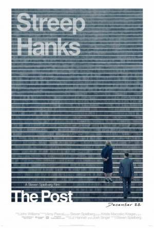 Cartaz oficial do filme The Post