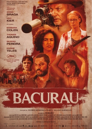 Cartaz oficial do filme Bacurau
