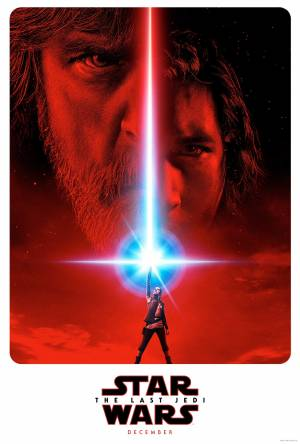 Cartaz do filme Star Wars: Os Últimos Jedi