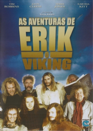 Cartaz oficial do filme As Aventuras de Erik, o Viking