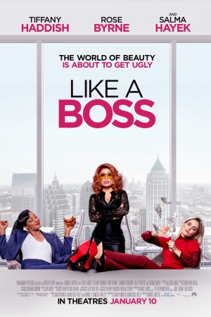 Cartaz oficial do filme Like a Boss