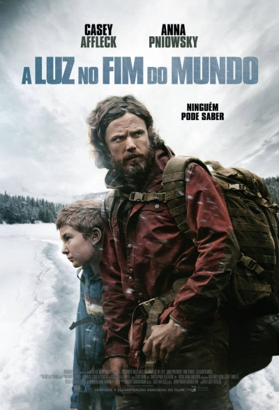 Cartaz oficial do filme A Luz no Fim do Mundo
