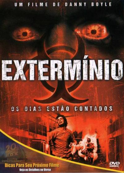 Cartaz oficial do filme Extermínio