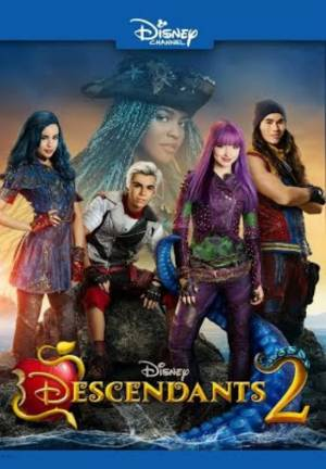 Cartaz oficial do filme Descendentes 2