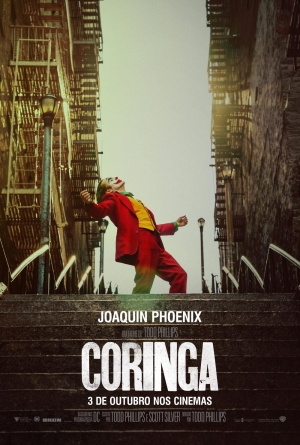 Cartaz oficial do filme Coringa (2019)