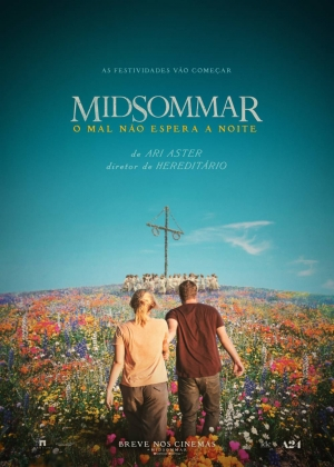 Cartaz oficial do filme Midsommar