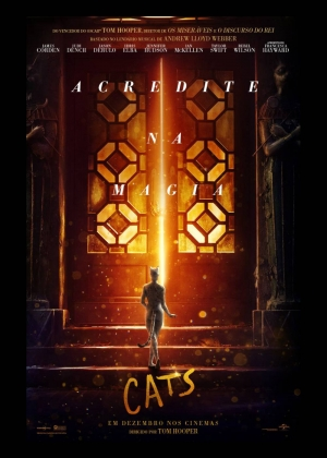 Cartaz oficial do filme Cats