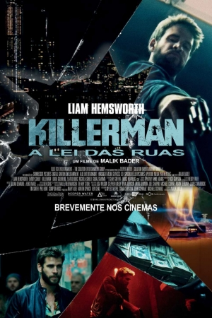 Cartaz oficial do filme Killerman