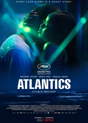 Cartaz oficial do filme Atlantique