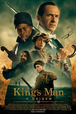 Cartaz oficial do filme King's Man: A Origem