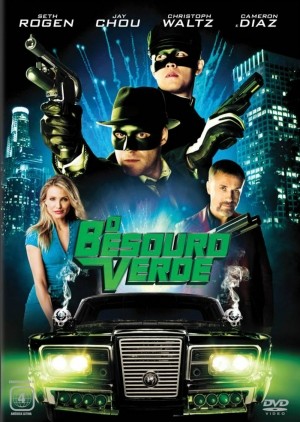 Cartaz oficial do filme O Besouro Verde