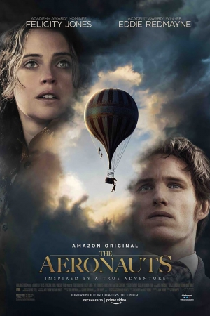 Cartaz oficial do filme The Aeronauts