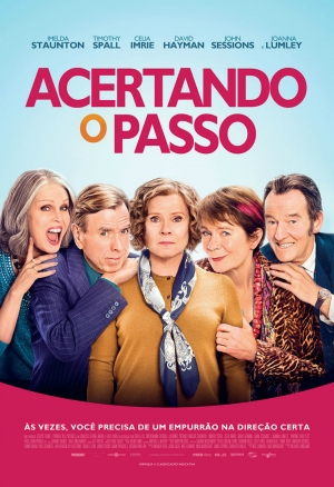 Cartaz oficial do filme Acertando o Passo