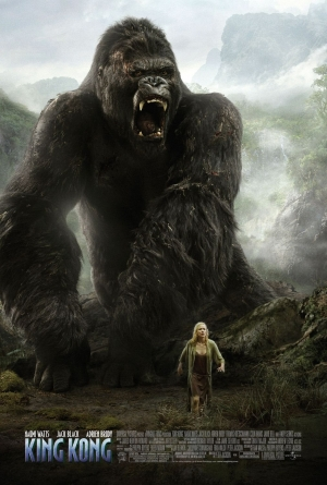 Cartaz oficial do filme King Kong (2005)
