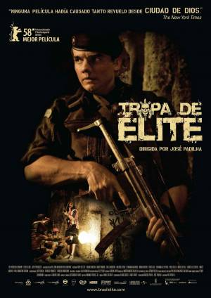 Cartaz do filme Tropa de Elite