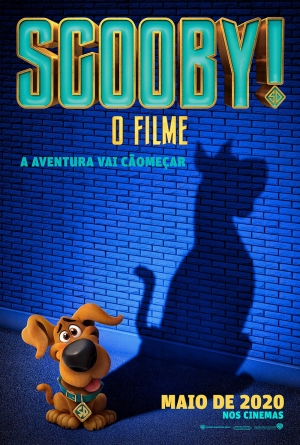 Cartaz oficial do filme Scooby-Doo (2020)