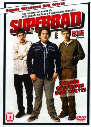 Cartaz oficial do filme Superbad - É Hoje