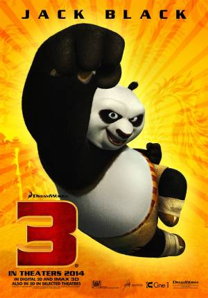 Cartaz do filme Kung Fu Panda 3