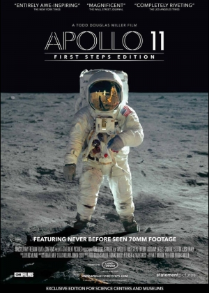 Cartaz oficial do filme Apollo 11 (2019)