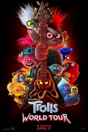 Cartaz oficial do filme Trolls 2