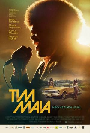 Cartaz oficial do filme Tim Maia