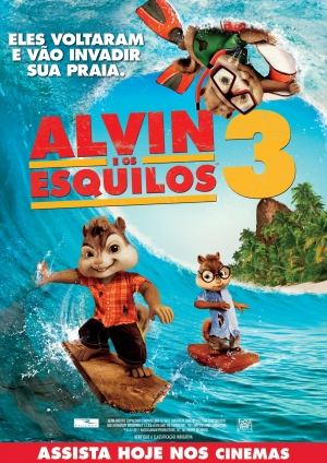 Cartaz do filme Alvin e Os Esquilos 3