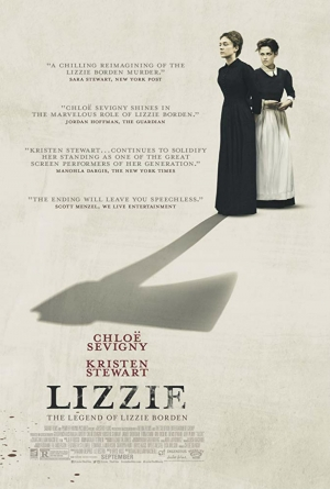 Cartaz oficial do filme Lizzie